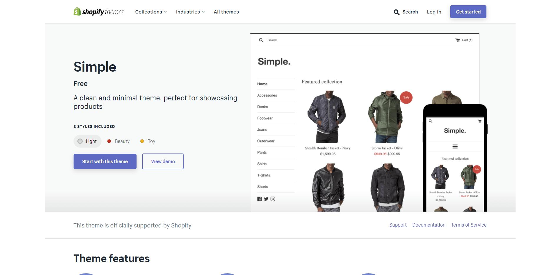 Shopifyテーマ8